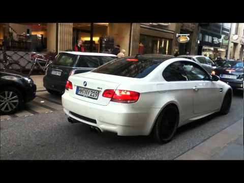 BMW M3 E92 (Coupe ) With Hartge Exhaust EXTREME LOUD SOUND!!!