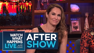 After Show: Was Amy Brenneman Scared To Work With Robert De Niro? | WWHL