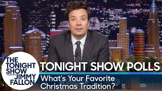 Tonight Show Polls: What's Your Favorite Christmas Tradition?