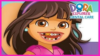 Watch & Learn with Dora the Explorer Dental Care Video-Teeth Caring Game Episodes for Kids