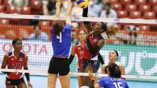[14-05-2016] Thailand VS Dom. Republic : Volleyball Olympic : Women