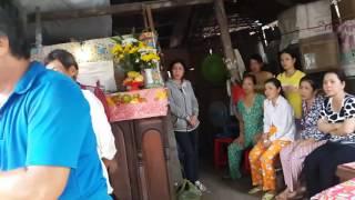 Tẩn liệm  cho Võ Thanh Tuấn