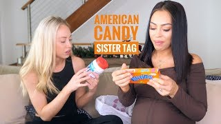 AUSTRALIANS TRY AMERICAN CANDY | SISTER TAG WITH AMY HEMBROW
