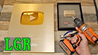 Unboxing My YouTube Play Buttons (and improving them)