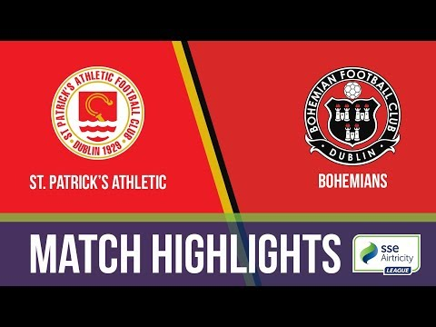 HIGHLIGHTS: St. Patrick's Athletic 2-2 Bohemians