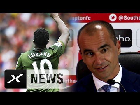 Roberto Martinez ermuntert Romelu Lukaku, Frauen zu treffen | FC Everton - FC Southampton 3:0