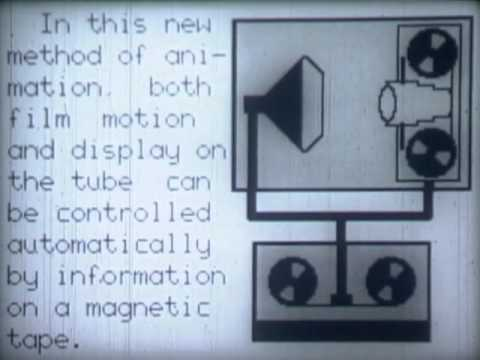 How Computer-Generated Animations Were Made, Circa 1964 - AT&T Archives