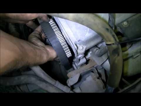 VideoTutorial HD   Procedimiento de Cambio de Kit Distribucion Hyundai Atos Prime 1.1 Motor 4HG