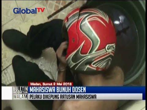 Mahasiswa bunuh dosen di kamar mandi, polisi kesulitan evakuasi pelaku - BIM 02/05