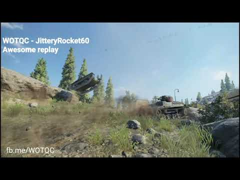 WOTQC - JitteryRocket60 - World of Tanks Xbox - Awesome replay in low tier