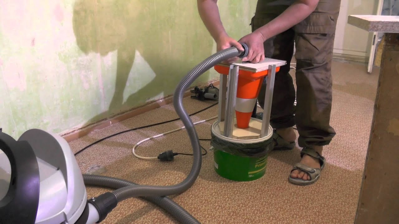 Фильтр циклон своими руками для бытового пылесоса