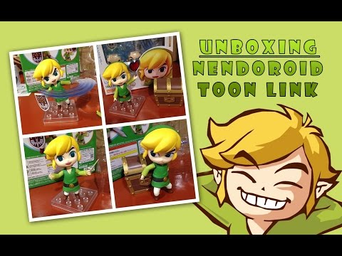 Unboxing: Nendoroid Toon Link video