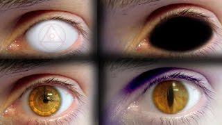 REAL LIFE Anime Eyes #5 (Orochimaru, Saiyan, Demon...)