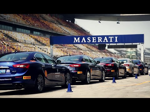 #MasterMaserati Driving Courses - Shanghai, China