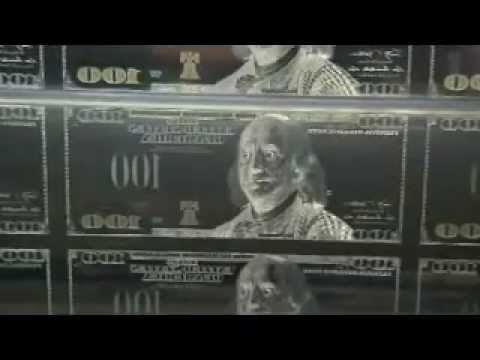 100 Dollar Bill Production Process Bureau of Engraving and Printing Presses use StrongArm