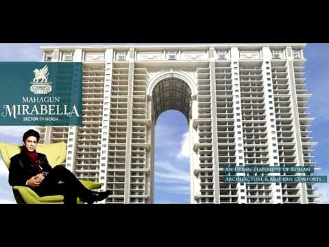 Mahagun India Presents Mirabella Inspired by the grand Roman/Neo Classical Architecture - YouTube