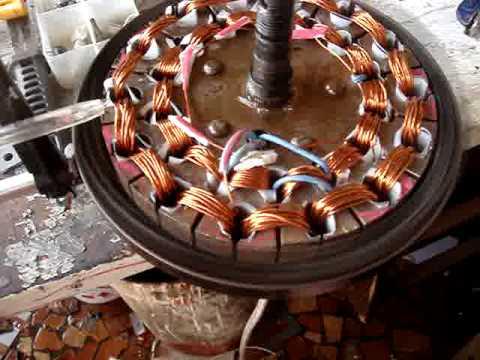 Motor de ventilador de teto 127 v modificado para 24 v