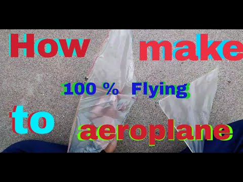 How to make aeroplane at home?