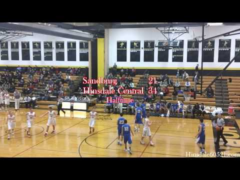 Highlights: Hinsdale Central vs. Sandburg - Boys Basketball