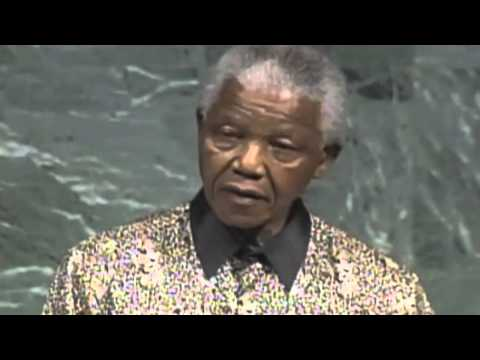A Tribute to Nelson Mandela -  anti-apartheid activist, revolutionary and politician - One by U2