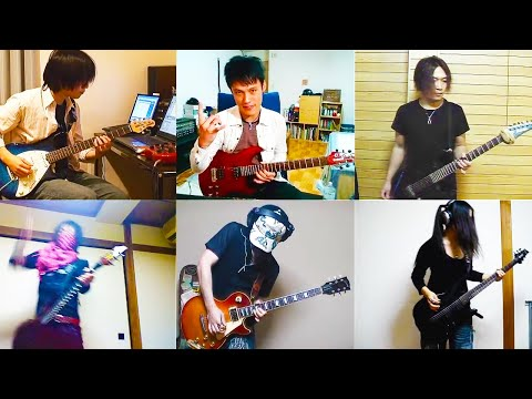 Canon Rock By Jerryc With Japanese Guitarists video