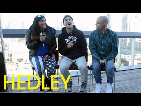 """Jacob Hoggard And Dave Rosin Of Hedley On Their New Album """"Hello"""" - Full Interview, Toronto 2015"""