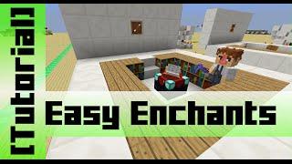 Easy adjustable Enchantment Table [Tutorial]