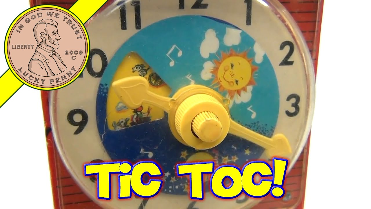 Toy Clock For Teaching Time Teaching Clock Toy 998