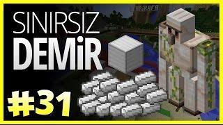 Sınırsız Demir - Minecraft Türkçe Survival - Türkçe Minecraft - Bölüm 31