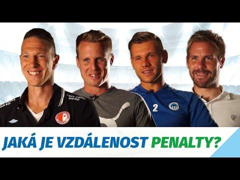 Fotbalový kvíz: Z jaké vzdálenosti se kope penalta?