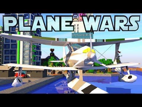 Minecraft War | PLANE WARS - Sea Planes!