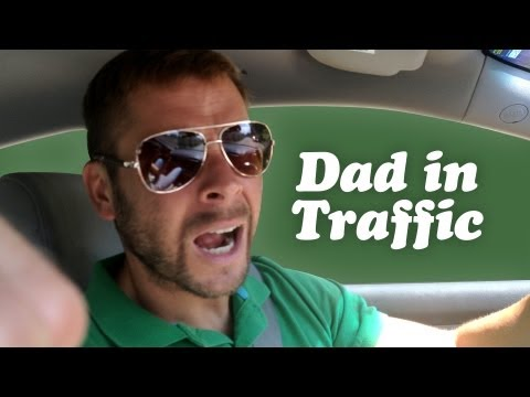 DAD FLIPS OUT IN TRAFFIC