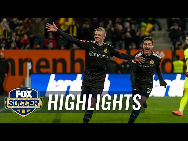Erling Haaland scores 23-minute hat trick in Borussia Dortmund debut   2020 Bundesliga Highlights thumbnail