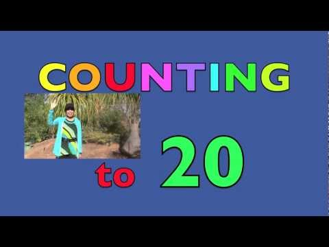COUNTING NUMBERS 1-20 Toddler - Preschooler (CHILDREN Learn English)