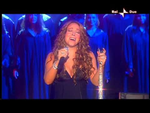 Mariah Carey  I want to know what love is live + ITW @ X Factor Italy 11.11.09