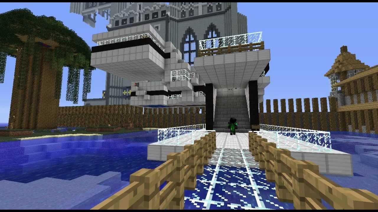 Minecraft Casa de Diseño