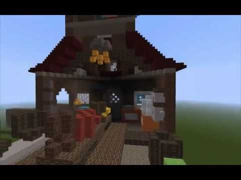 The Burrow Harry Potter Minecraft Minecraft Harry Potter