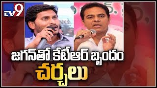 KCR summons KTR to invite Jagan to federal front