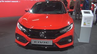 Honda Civic 1.5 i-VTEC Sport Plus (2019) Exterior and Interior