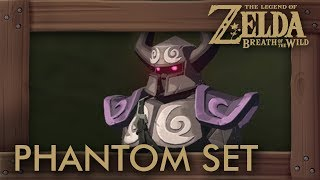 Zelda Breath of the Wild - Phantom Armor Set Location