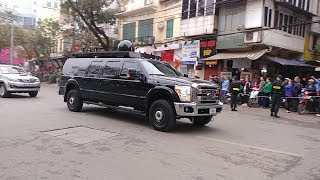 Tân binh Ford F-350 Super Duty hộ tống ông Donald Trump - Extremely rare truck in President convoy