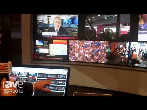 ISE 2014: Barco Showcases TransForm C Video Wall Controller