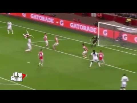 Bafetimbi Gomis Goal - Arsenal vs Swansea City 1-0 (Premier League 2015) HD