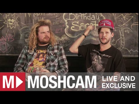 Road Test: Wavves Talk Kissing Priests, Wild Shows And Virginity | Moshcam video