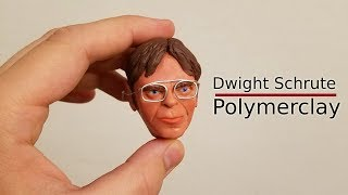 Making Dwight Schrute From 'The Office' With Polymer Clay