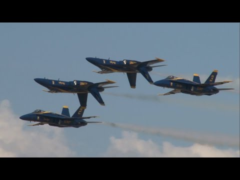2012 Blue Angels Homecoming Airshow - Us Navy Blue Angels video