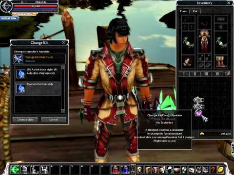 change hairstyles online. Cabal Online Male Change Kit HairStyle and Face PREMIUM I show you how can