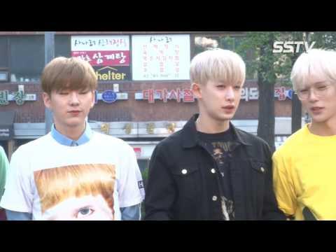 [SSTV] 몬스타엑스(MONSTAX)-크나큰(KNK), 훈남 오빠들의 출근길~ '캐주얼은 이들처럼' (뮤직뱅크 출근길)