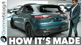Porsche Cayenne 2018  INTERIOR + EXTERIOR + HOW IT'S MADE - The Luxury SUV Turbo S 2018