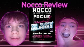 Raspberry BLAST Nocco Review!